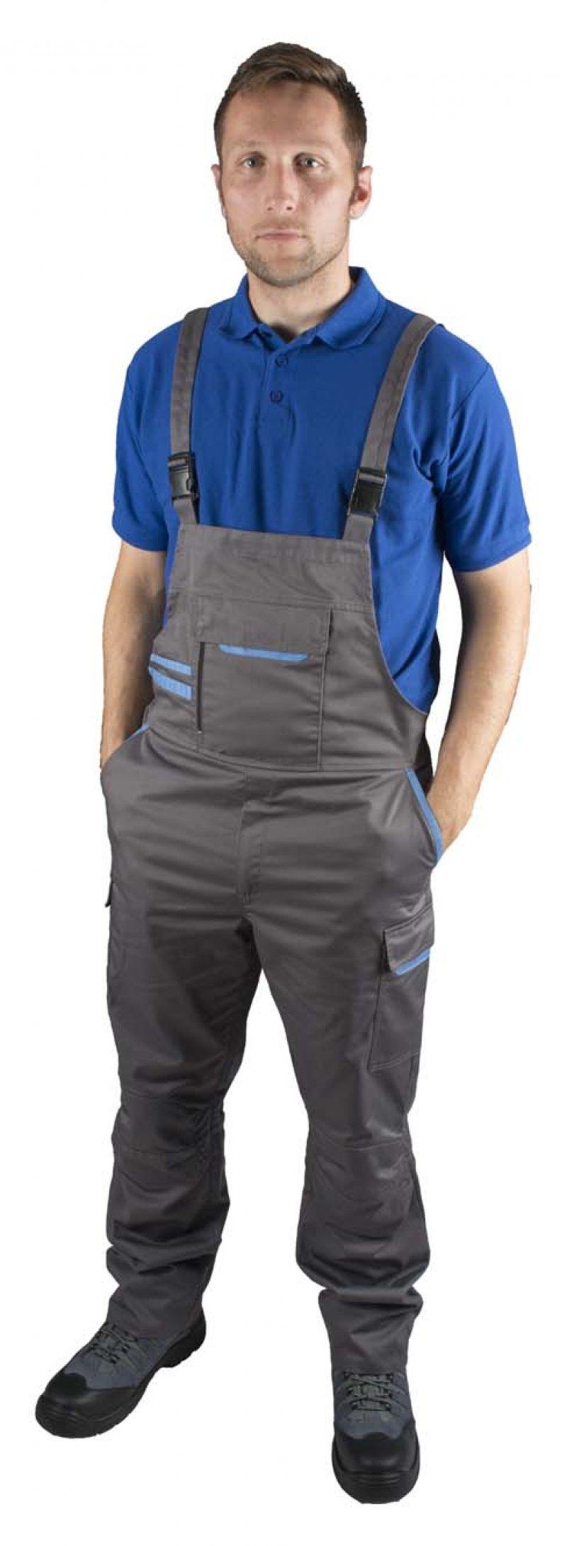 Pantaloni cu pieptar ROCK WORKER RWMN