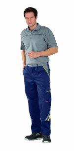 Pantaloni cu talie înaltă HIGHLINE albastru închis
