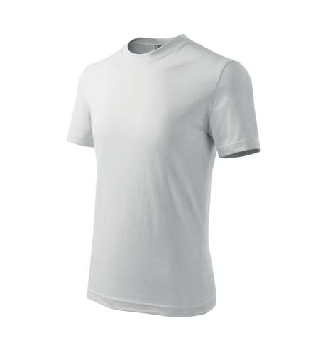 Tricou pentru copii 100% bumbac, alb