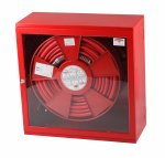 Hidrant interior cu uşă cu sticlă LUX ADST(Y) PVC 650x650x260 mm