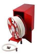 Cutii hidranți speciali LUX-AD25 echipați cu furtun semirgid DN25