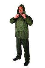 Costum de ploaie poliester/pvc -2XL