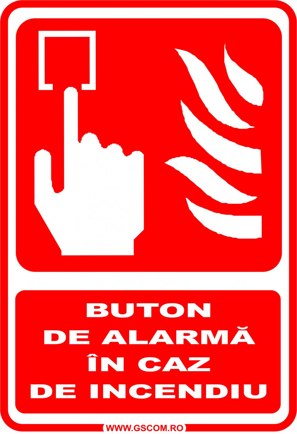 buton incendiu