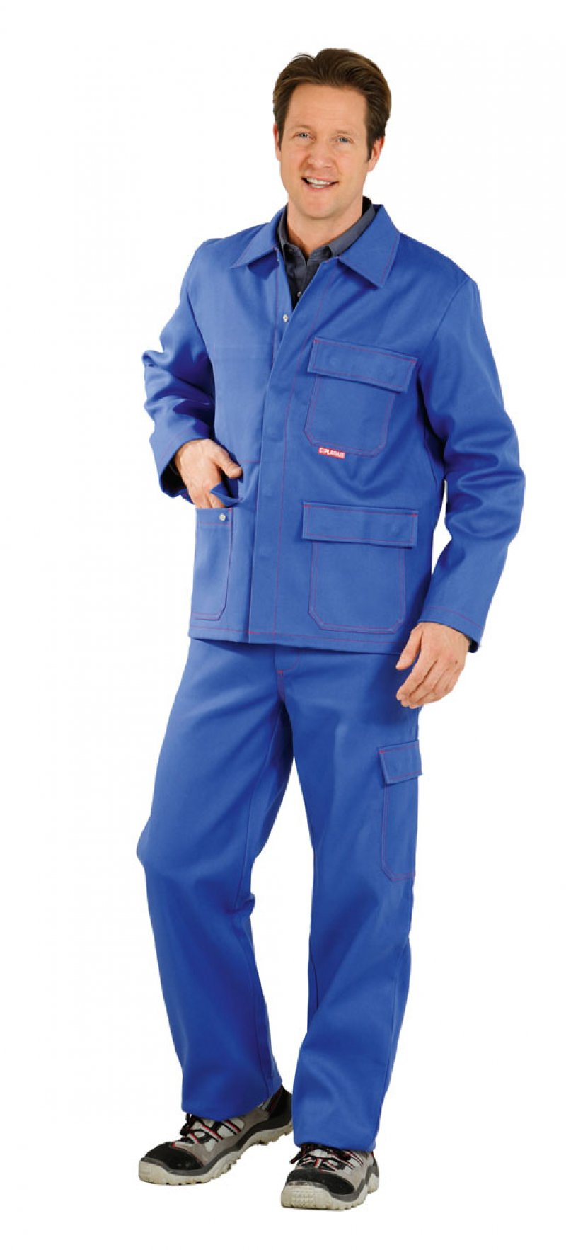 Jacheta de sudare, albastru regal, 360g / mp ,42-64