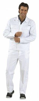 Sacou alb, 100% bumbac BW270