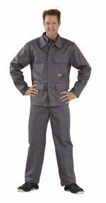 Jacheta de sudare, gri, 360 g / mp, 42-64