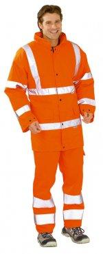 Jacheta vizibilă portocalie / albastră