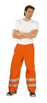 Pantaloni de ploaie înaltă vizibilitate, portocaliu
