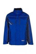 Jachetă de înaltă calitate, albastru regal / albastru marin, 65% poliester, 35% bumbac