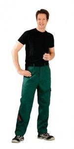 Pantaloni de înaltă calitate verde / negru, 65% PES - 35% bumbac