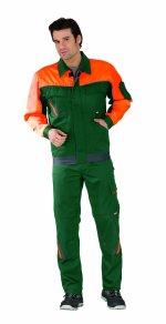 Veste Visline V1, verde / portocaliu