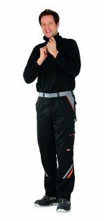 Pantaloni de visline negru / portocaliu, 38-70
