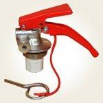 Robinet (valva) stingator presurizat tip P3/P4/P6/P9/SM6/SM9
