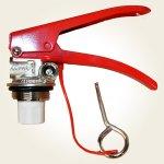 Robinet (valva) stingator presurizat tip P20/P50/P100/SM50/SM100 (filet interior)