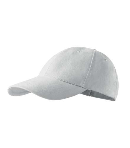 Sapca Baseball cap 6P, white,