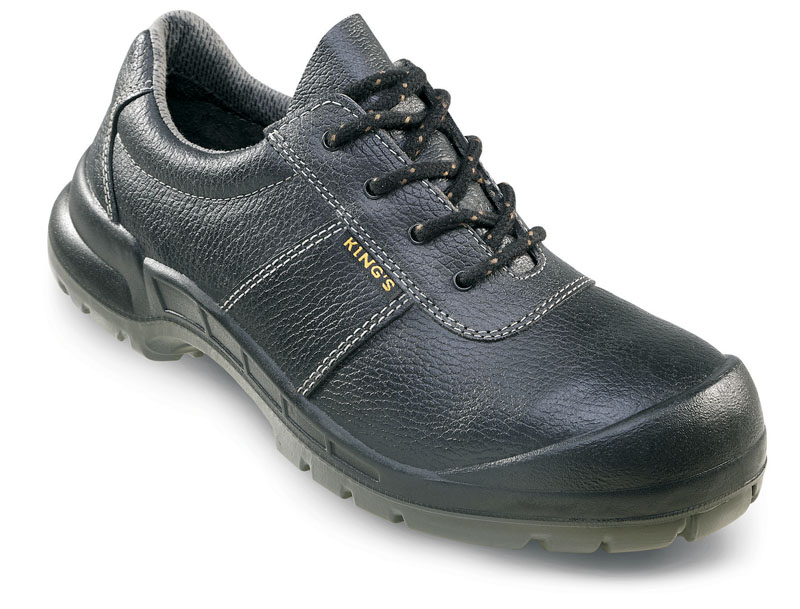 Pantofi de protecţie King`s S3 cu bombeu din oţel, cu inserţie de placă în talpă