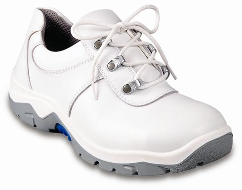 Pantofi S2, capută albă din pile de bovină