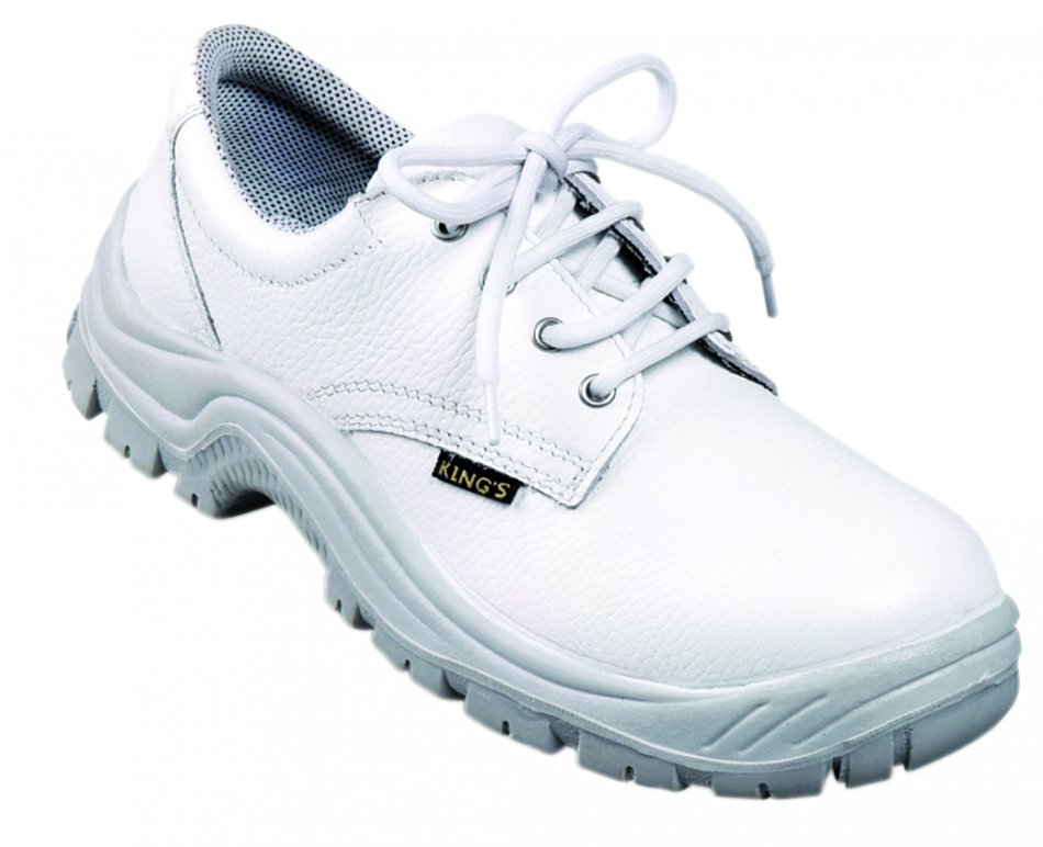 Pantofi de protecţie King`s S2, albi