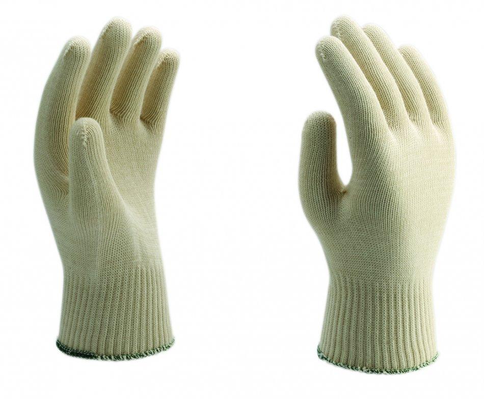 Mănuşi tricotate din fire de aţă