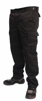 Pantaloni cu talie ridicată model BDU