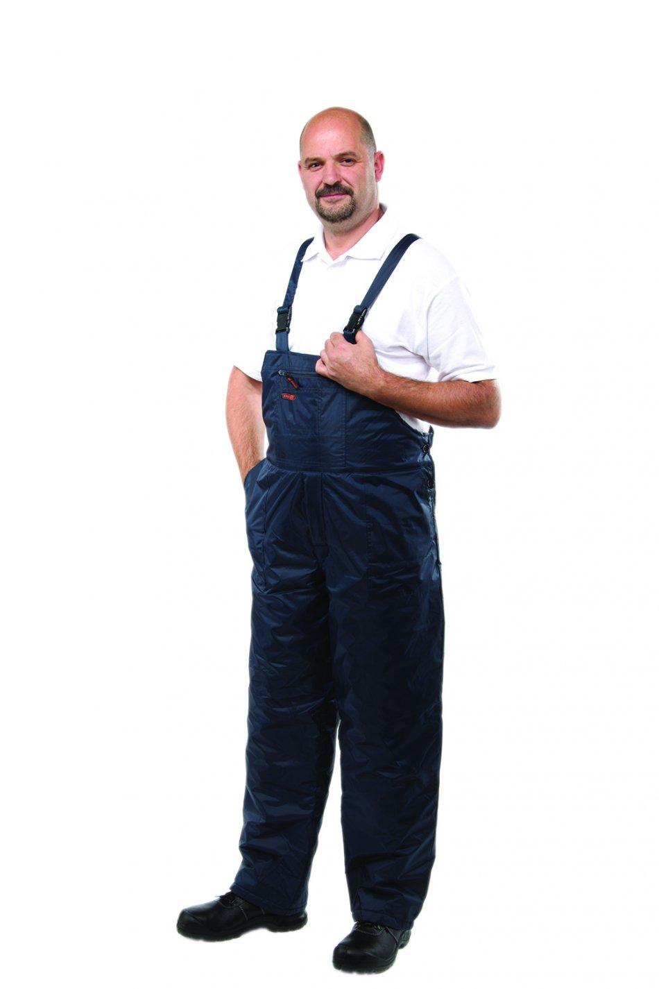 Pantalon cu pieptar de iarnă ROCK