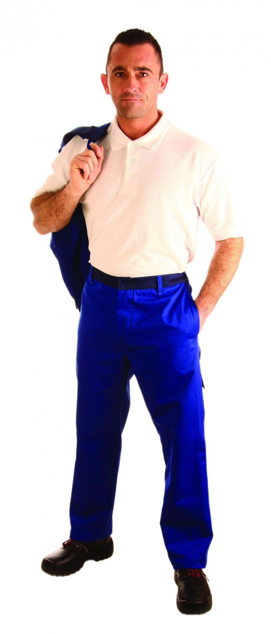 Pantaloni cu talie înaltă împotriva produselor chimice lichide
