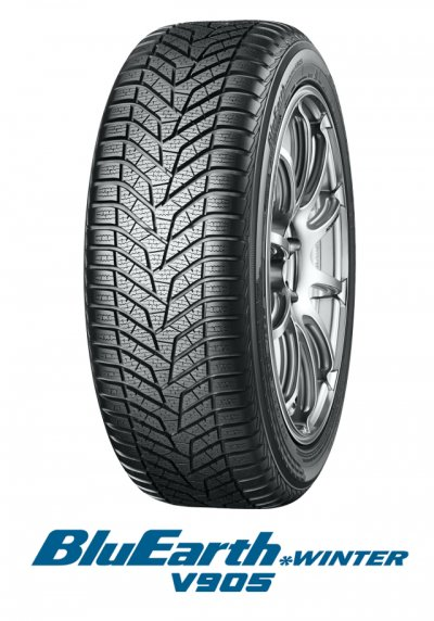 195/55R15 85H Yokohama Winter V905 Bluearth