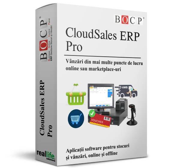 Abonament lunar Licenta CloudSales ERP Pro