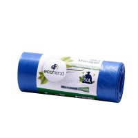 Saci menaj 60 L LDPE 15/1-Albastru