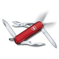 Briceag-0.6366- MIDNITE MANAGER Roșu, cu pix și cu led