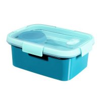 Cutie alimente drept+tacamuri 1.2 L-SMART TO GO-00947-Y33-Albastru