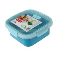 Cutie alimente pătrat 0.9 L-SMART TO GO-00949-Y33-Albastru