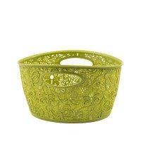 Coș oval VICTORIA mini-02204-999-Verde