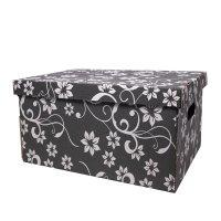 Set 12 cutii depozitare din carton 35x26x21