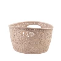 Coș oval VICTORIA mini-02204-382-Bej