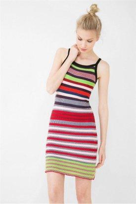 Rochie tricotata, Desigual, Multicolor, M