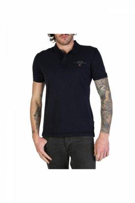 Tricou Polo pentru barbati model ELBAS-2 Napapijri, Albastru, 2XL
