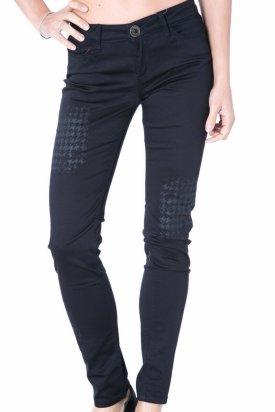 Pantalon, Desigual, Negru, 26 EU
