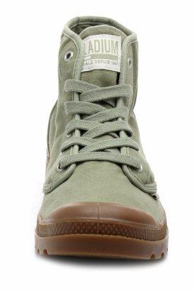 Pantof, Palladium, Verde, 46 Eu