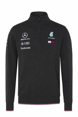 Pulover, Mercedes, Gri inchis, 2XL EU