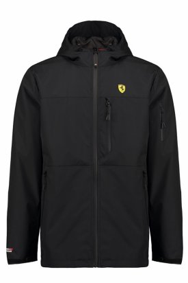 Geaca ploaie, Ferrari, Negru, XL EU