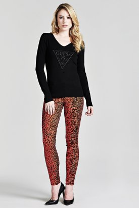 Pantaloni, Guess, Multicolor, 28 EU