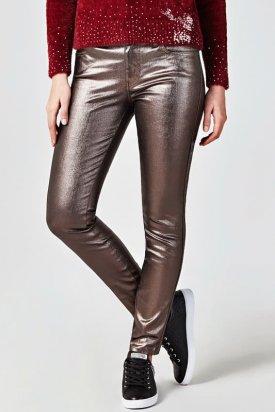 Pantaloni, Guess, Maro inchis, 24 EU
