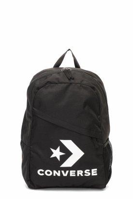 Converse, Rucsac unisex cu imprimeu logo Speed, Negru