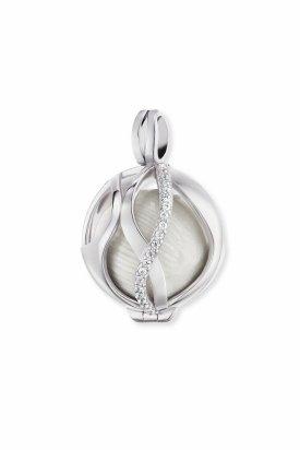 Engelsrufer, medalion, Argintiu