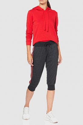 Pantaloni, Adidas, Gri inchis, L