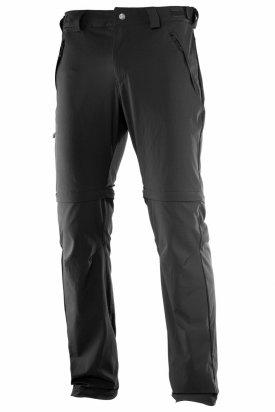 Pantaloni, Salomon WAYFARER ZIP PANT, Gri, M