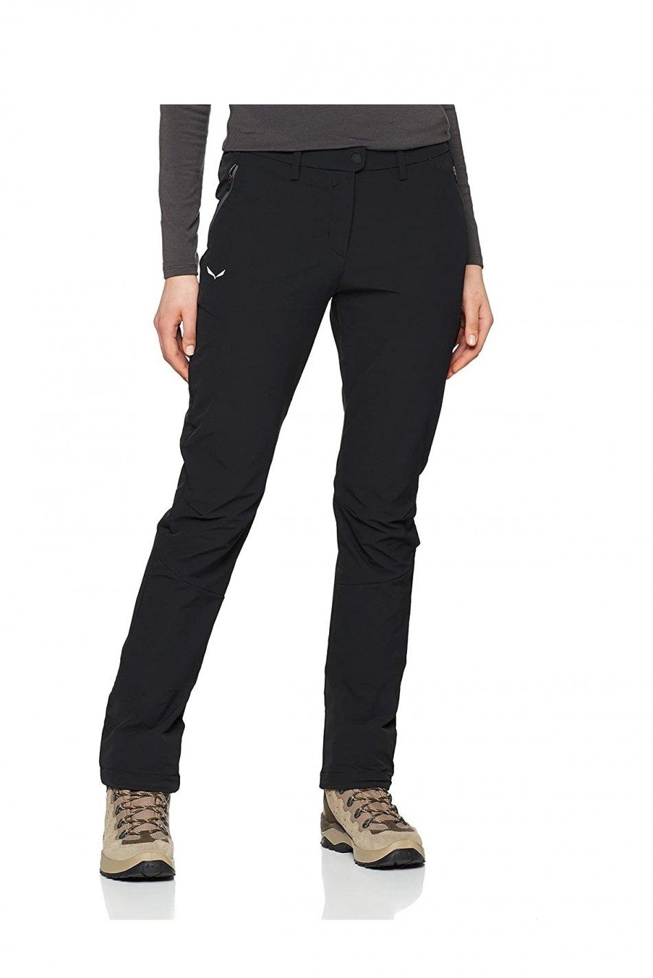 Pantaloni dama, Salewa, Negru, M