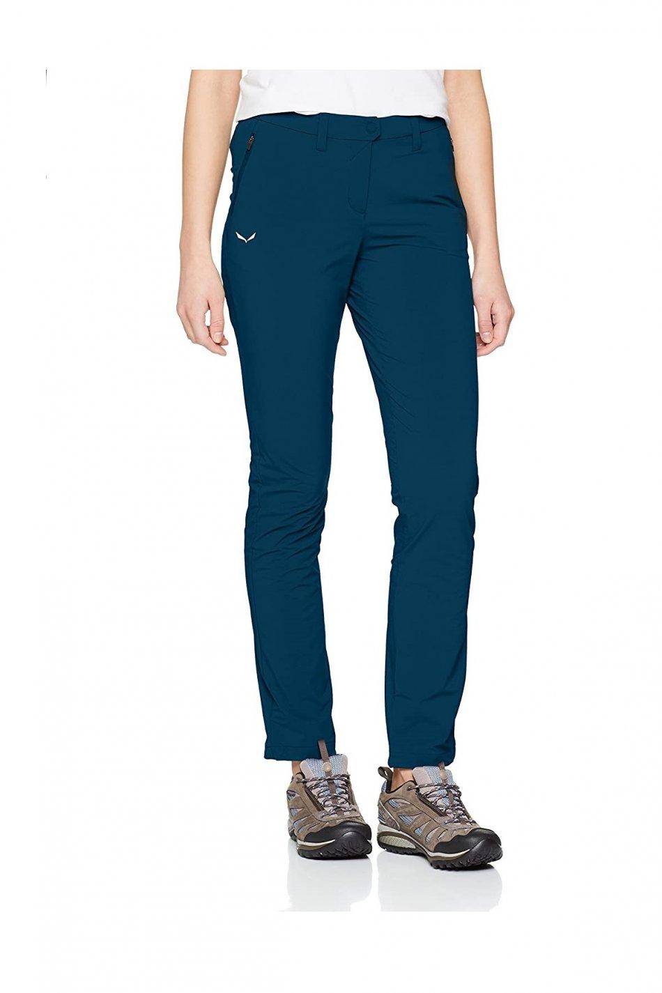 Pantaloni dama, Salewa, Albastru, 50 EU