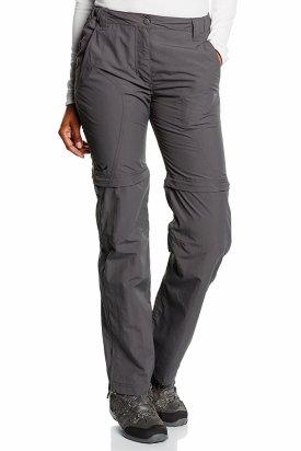 Pantaloni dama, Salewa, Gri inchis, 36 EU